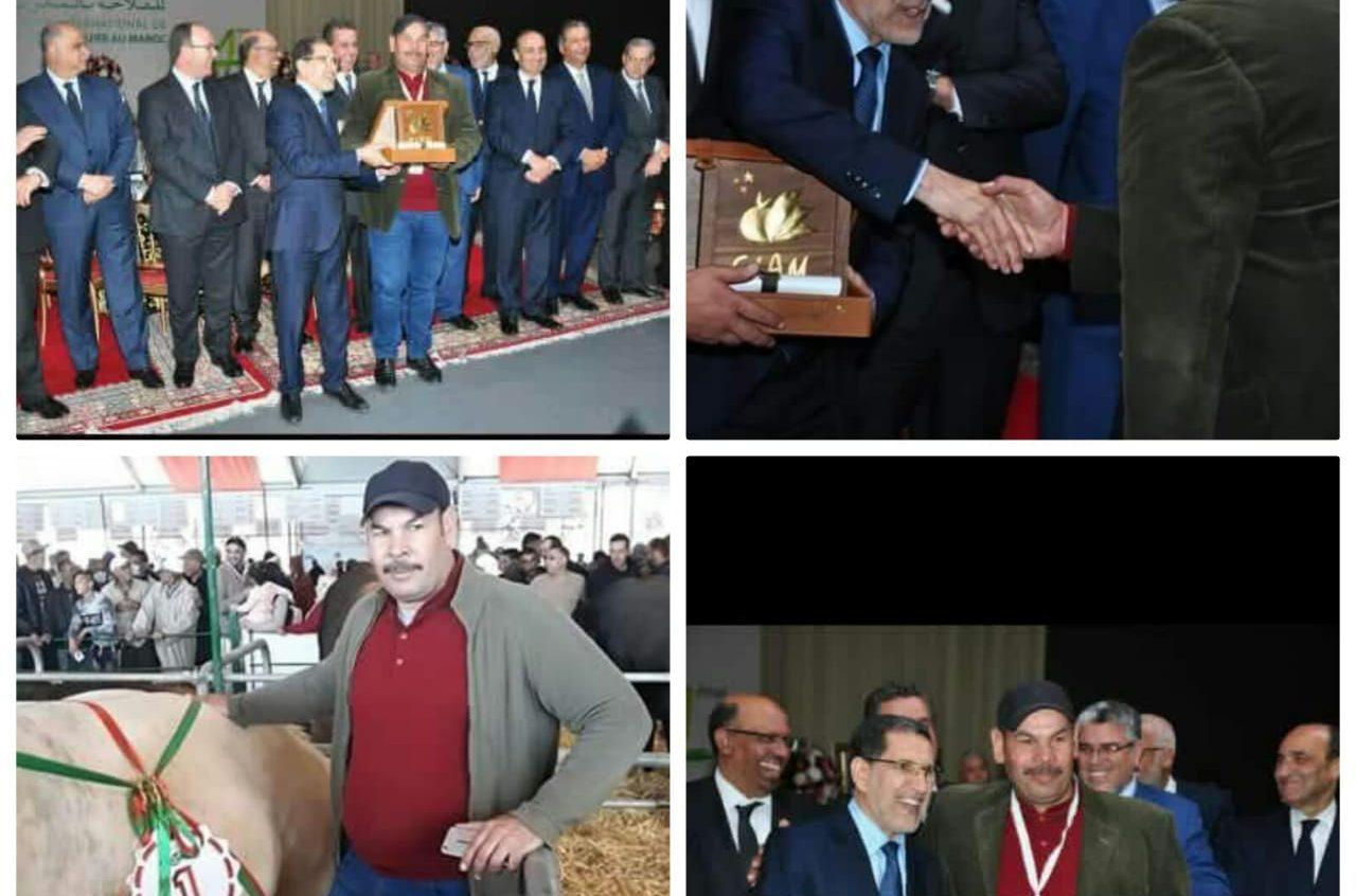 فوز محفوظ عمار بالذرع الذهبي بالمعرض الدولي للفلاحة بمكناس