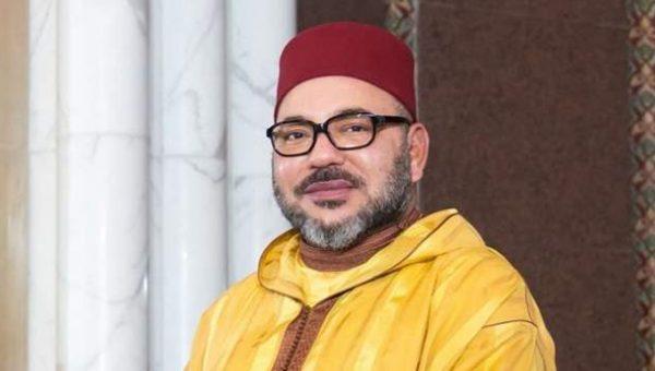 برقية تهنئة مرفوعة لصاحب الجلالة بمناسبة عيد الفطر المبارك