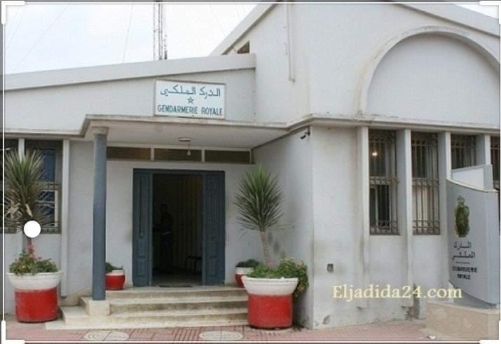 درك سيدي بوزيد يداهم مقهى بدوار الغضبان اقليم الجديدة وايقاف 20 مخالف للطوارئ الصحية